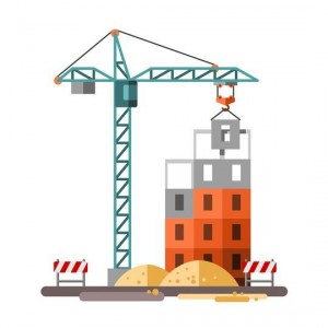 619c16eed5008b9af86761bbc1bd819c--flat-design-illustration-building-a-house